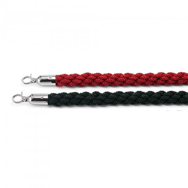 Verbindungskordel - Länge 150 cm - rot oder schwarz - 2207.159