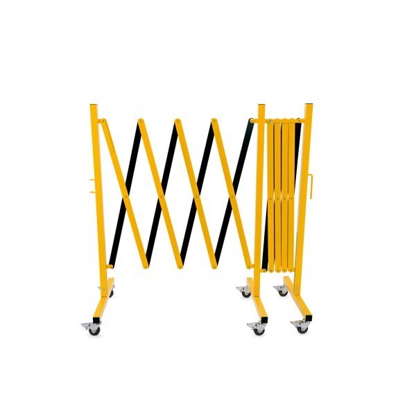 Scherensperre - bis zu 4 m - gelb/schwarz - 2395 350
